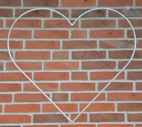 Hjerte til v g 80cm bred v s design for Revestimiento de ladrillo decorativo